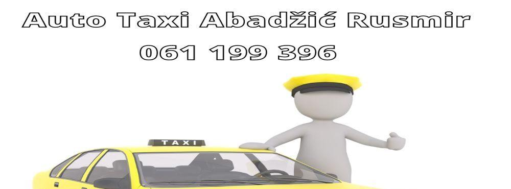 Auto Taxi Abadzic Rusmir
